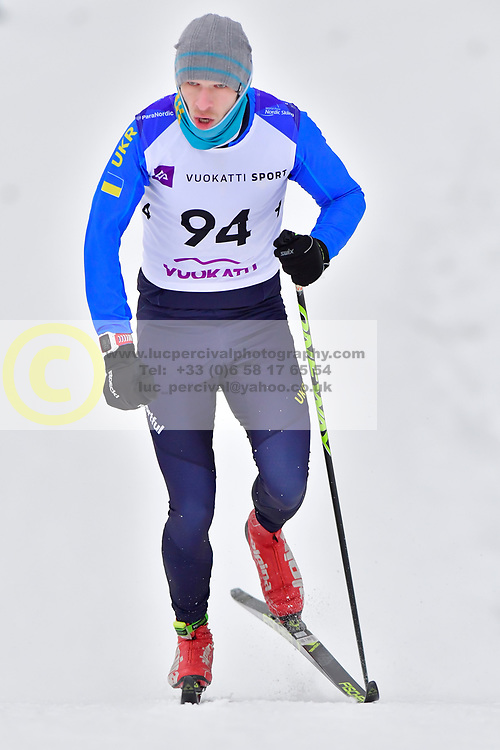VOVCHYNSKYI Grygorii, UKR, LW8 at the 2018 ParaNordic World Cup Vuokatti in Finland