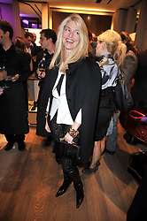 AVERY AGNELLI at a party to launch the book 'Italian Touch' - A Celebration of Italian Lifestyle held at TOD's, 2-5 Old Bond Street, London on 4th November 2009.
