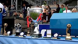 The trophies for the Bristol Fan Derby - Mandatory by-line: Robbie Stephenson/JMP - 04/09/2016 - FOOTBALL - Memorial Stadium - Bristol, England - Bristol Rovers Fans v Bristol City Fans - Bristol Fan Derby