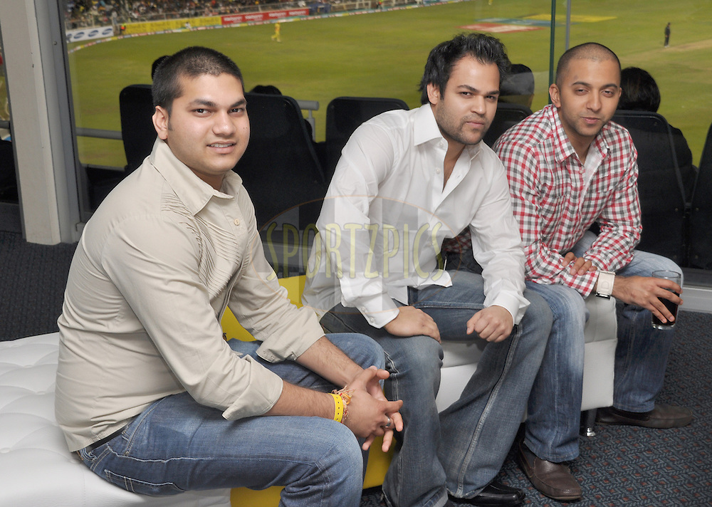 Hospitality suite during match 3 of the Airtel CLT20 between The Chennai Superkings and the Central Stags held at Kingsmead Stadium in Durban on the 11 September 2010..Photo by: Geoff Brink/SPORTZPICS/CLT20.