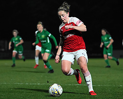 February 20, 2019 - Borehamwood, Hertfordshire, United Kingdom - Kim Little (Captain) of Arsenal  during the FA Women's Super League football match between Arsenal Women and Yeovil Town L.F.C.at Meadow Park on February 20, 2019 in Borehamwood, England. (Credit Image: © Action Foto Sport/NurPhoto via ZUMA Press)