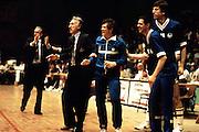 Europei Francia 1983 - Girone eliminatorio Limoges: Alessandro Gamba, Carlo Caglieris, Renzo Vecchiato