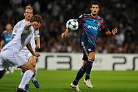 FOOTBALL - CHAMPIONS LEAGUE 2010/2011 - GROUP STAGE - GROUP B - OLYMPIQUE LYONNAIS v SCHALKE 04 - 14/09/2010 - PHOTO GUY JEFFROY / DPPI - YOANN GOURCUFF (LYON)