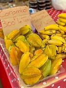 Starfruit, Taro, Papeete Market, Tahiti, French Polynesia