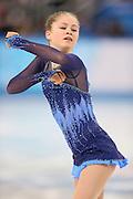"Julia Lipnitskaia (RUS), <br /> FEBRUARY 19, 2014 - Figure Skating : <br /> Women's Short Program <br /> at ""ICEBERG"" Skating Palace <br /> during the Sochi 2014 Olympic Winter Games in Sochi, Russia. <br /> (Photo by Yohei Osada/AFLO SPORT)"
