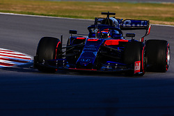 February 18, 2019 - Montmelo, BARCELONA, Spain - Daniil Kvyat from Russia with 26 Scuderia Toro Rosso Honda in action during the Formula 1 2019 Pre-Season Tests at Circuit de Barcelona - Catalunya in Montmelo, Spain on February 18. (Credit Image: © AFP7 via ZUMA Wire)