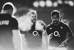 James Haskell of England during an open training session at Twickenham - Mandatory by-line: Robbie Stephenson/JMP - 16/02/2018 - RUGBY - Twickenham Stadium - London, England - England Rugby Open Training Session