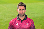 Head shot of Tim Groenewald in the Royal London One-Day Cup kit during the 2019 media day at Somerset County Cricket Club at the Cooper Associates County Ground, Taunton, United Kingdom on 2 April 2019