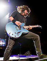 Dave Grohl and Foo Fighters perform at Madison Square Garden.