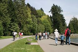 Vancouver, BC, Canada     01/Maio/2005.Stanley Park, situado em downtown./ Stanley Park, downtown..Foto Marcos Issa/Argosfoto