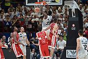 Hogue Dustin<br /> Olimpia EA7 Emporio Armani Milano vs Dolomiti Energia Trentino<br /> Lega Basket Serie A 2016/2017<br /> PlayOff semifinale gara 1<br /> Milano 25/05/2017<br /> Foto Ciamillo-Castoria / I.Mancini