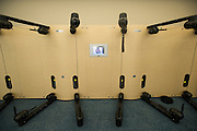 The workout equipment in the new Continental apartment building in Dallas on Tuesday, March 12, 2013. (Cooper Neill/The Dallas Morning News)