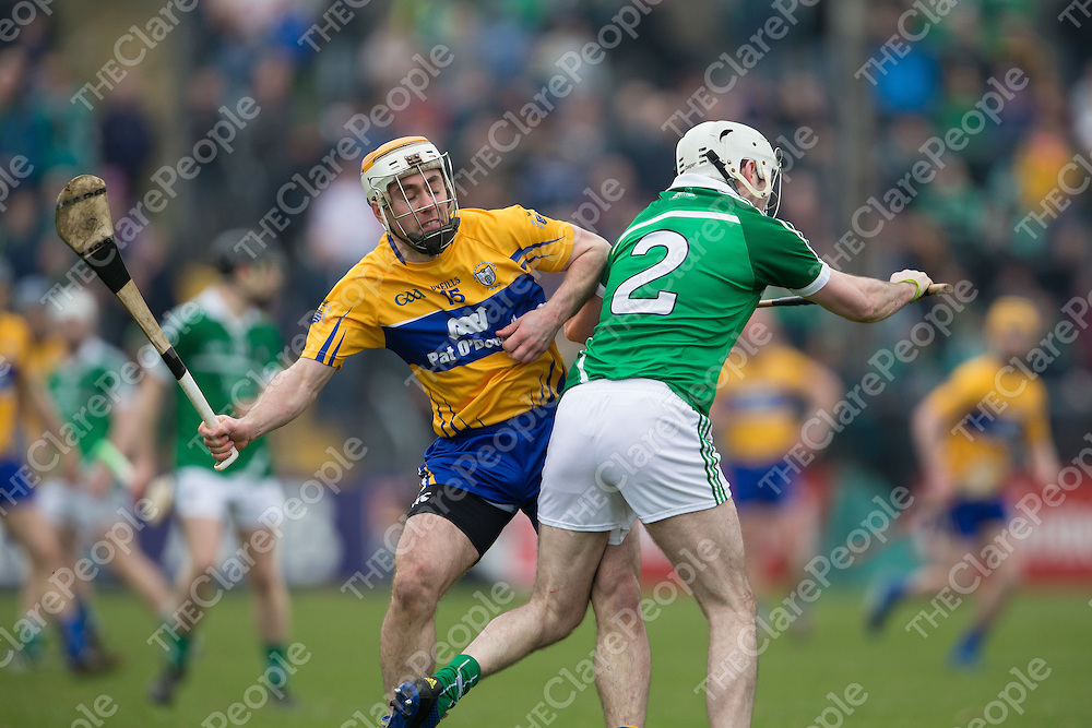 Clare's Conor McGrath versus Limerick's Tom Condon