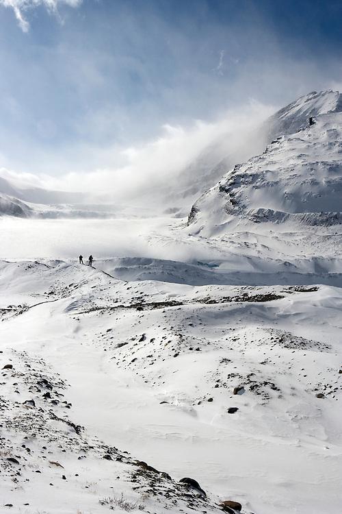 Athabasca Glacier, Jasper National Park, Alberta, Canada