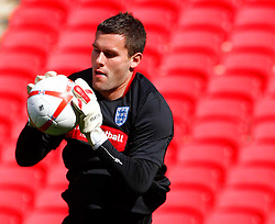 02.09.2010, Wembley Stadion, London, ENG, Training Nationalmannschaft England, im Bild Ben Foster of England, EXPA Pictures © 2010, PhotoCredit: EXPA/ IPS *** ATTENTION *** UK AND FRANCE OUT! / SPORTIDA PHOTO AGENCY
