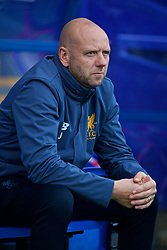 BIRKENHEAD, ENGLAND - Wednesday, November 1, 2017: Liverpool's academy mentor Rob Jones before the UEFA Youth League Group E match between Liverpool and NK Maribor at Prenton Park. (Pic by David Rawcliffe/Propaganda)