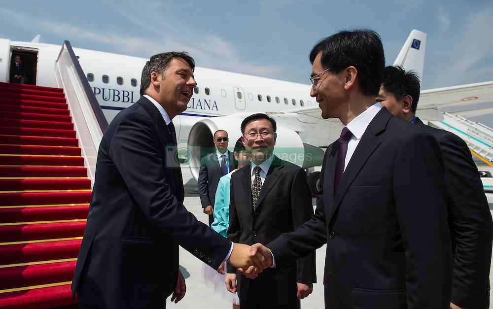 HANGZHOU, Sept. 3, 2016 (Xinhua) -- Italian Prime Minister Matteo Renzi arrives in Hangzhou to attend the G20 Summit in Hangzhou, capital city of east China's Zhejiang Province, Sept. 3, 2016. (Xinhua/Li Xiang) (Credit Image: © Li Xiang/Xinhua via ZUMA Wire)