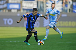 "Foto Filippo Rubin<br /> 07/04/2018 Ferrara (Italia)<br /> Sport Calcio<br /> Spal - Atalanta - Campionato di calcio Serie A 2017/2018 - Stadio ""Paolo Mazza""<br /> Nella foto: ALEJANDRO GOMEZ (ATALANTA)<br /> <br /> Photo by Filippo Rubin<br /> April 07, 2018 Ferrara (Italy)<br /> Sport Soccer<br /> Spal vs Atalanta - Italian Football Championship League A 2017/2018 - ""Paolo Mazza"" Stadium <br /> In the pic: ALEJANDRO GOMEZ (ATALANTA)"