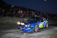 AUTO - WRC 2005 - MONTE CARLO RALLY - MONACO 23/01/2005 - PHOTO : FRANCOIS BAUDIN / DIGITALSPORT<br />