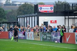 The crowd look on - Photo mandatory by-line: Dougie Allward/JMP - Mobile: 07966 386802 - 20/09/2014 - SPORT - FOOTBALL - Bristol - SGS Wise Campus - BAWFC v Arsenal Ladies - FA Womens Super League