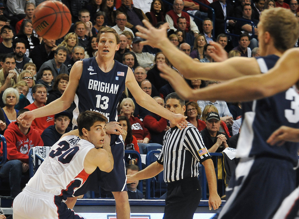 National Gonzaga Day game vs. BYU. Photo by Rajah Bose