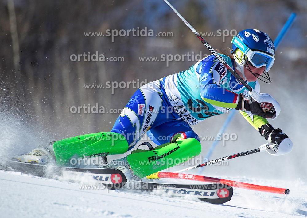 25.11.2012, Aspen Mountain, USA, FIS Ski Alpin Weltcup, Slalom, Damen, im Bild Marusa Ferk of Slovenia  // during Ladies Slalom of FIS Ski Alpine world cup at Aspen Mountain in Aspen, United States on 2012/11/25. EXPA Pictures © 2012, PhotoCredit: EXPA/ ESPA/ Kevin Pritchard