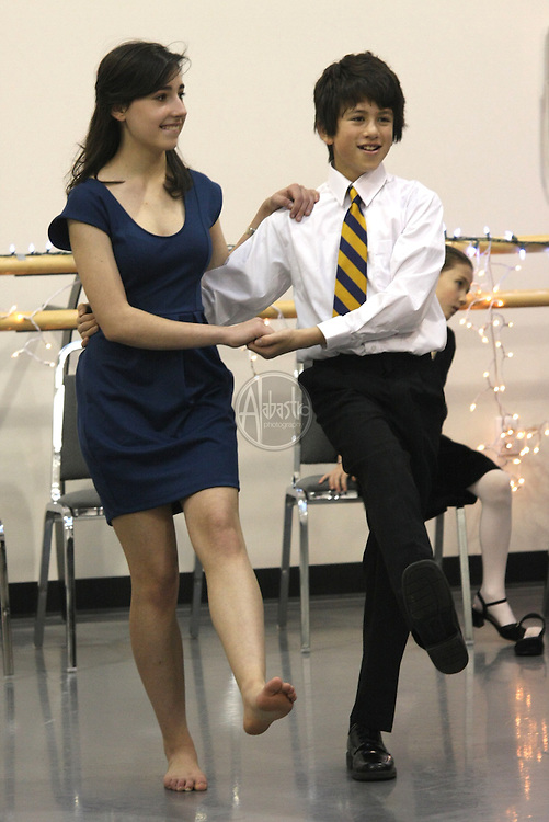 Doing the Lindy Hop at the PNB Winter Wonderland Ball 2010.
