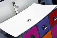 Elegant modern bathroom sink