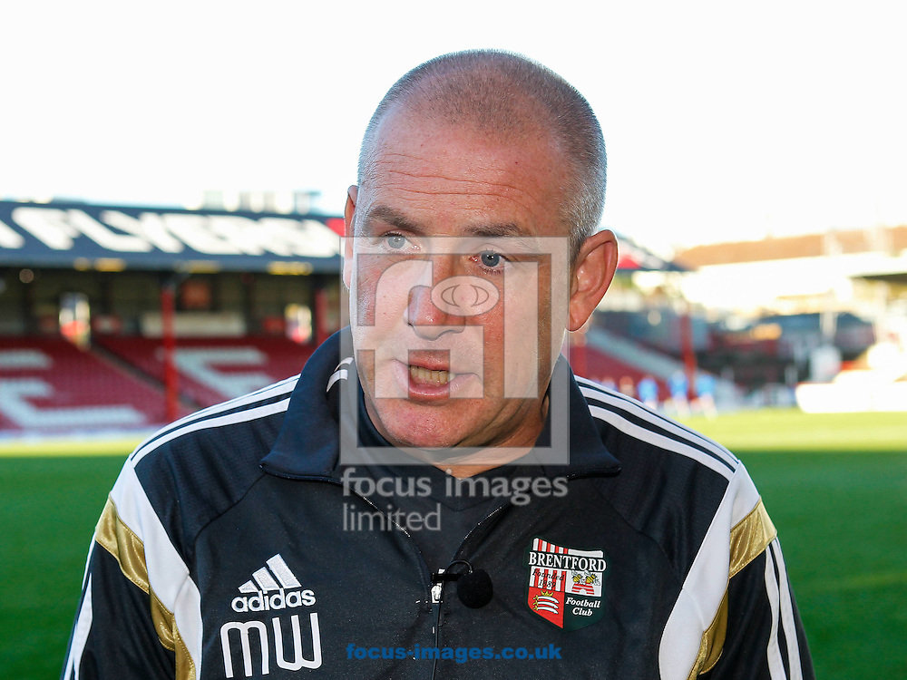 Brentford Manager Mark Warburton after the Sky Bet Championship match between Brentford and Reading at Griffin Park, London<br /> Picture by Mark D Fuller/Focus Images Ltd +44 7774 216216<br /> 04/10/2014