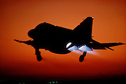F-4S burner takeoff, MCAS Yuma AZ