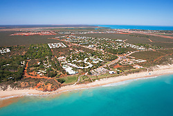 Aerial view of Brome's Cable Beach showing the Cable Beach Club Resort.