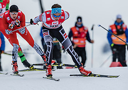 28.01.2018, Seefeld, AUT, FIS Weltcup Langlauf, Seefeld, FIS Weltcup Langlauf, 15 km Sprint, Herren, im Bild Simon Kugler (AUT) // Simon Kugler of Austria during men's 15 km sprint of the FIS cross country world cup in Seefeld, Austria on 2018/01/28. EXPA Pictures © 2018, PhotoCredit: EXPA/ Stefan Adelsberger