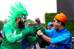 India and Pakistan fans ahead of their sides Cricket World Cup fixture at Old Trafford - Mandatory by-line: Robbie Stephenson/JMP - 16/06/2019 - CRICKET- Old Trafford - Manchester, England - India v Pakistan - ICC Cricket World Cup 2019 group stage