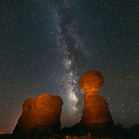 Frozen in time, watching the Milky Way move In the skies through the millennia!!