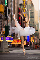 Dance As Art The New York City Photography Project Times Square Series with Xiaowan Yan