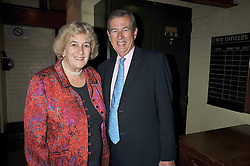 MINNIE CHURCHILL and SIMON BIRD at the launch of the Imperial War Museum's 70th anniversary commemorating the outbreak of World War 11 held at the Cabinet War Rooms, Whitehall, London on 2nd September 2009.