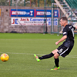 East Fife v Forfar Athletic, Betfred Cup, 22 July 2018