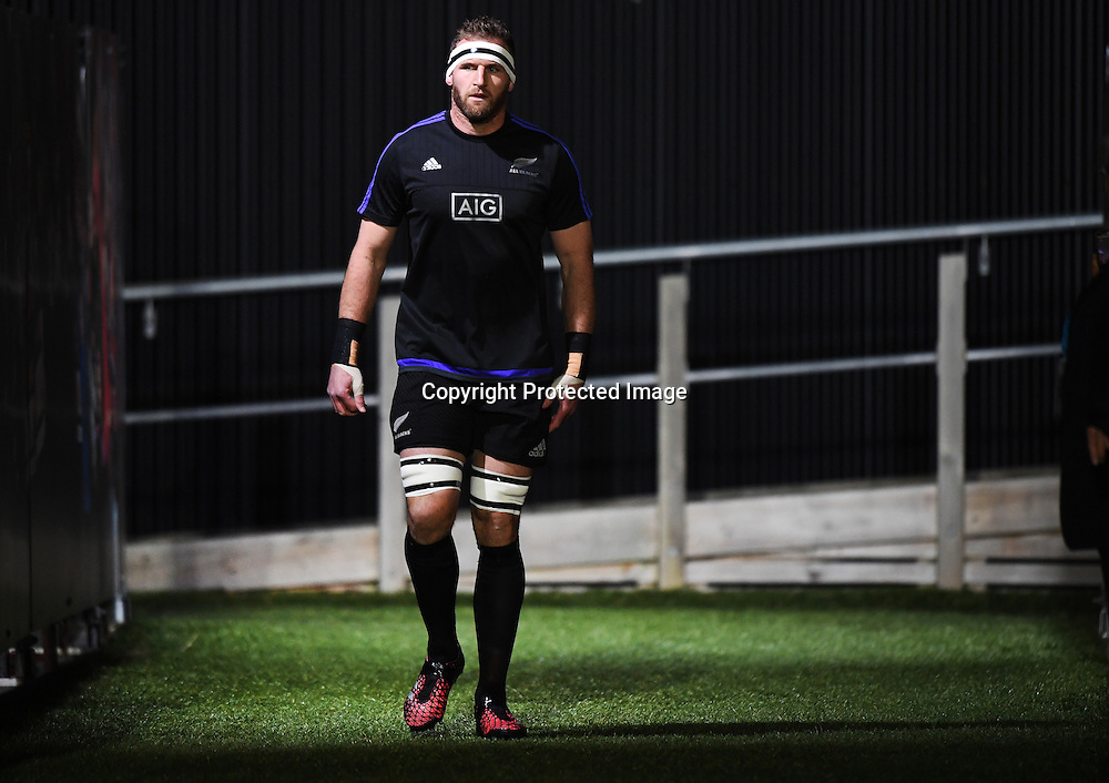 All Blacks captain Kieran Read.<br /> New Zealand All Blacks v South Africa. Test match rugby union. The Rugby Championship. Christchurch, New Zealand. Saturday 17 September 2016. &copy; Copyright Photo: Andrew Cornaga / www.Photosport.nz