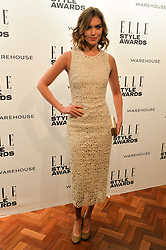 ARIZONA MUSE at the 17th Elle Style Awards 2014 in association with Warehouse held at One Embankment, 8 Victoria Embankment, London on 18th February 2014.