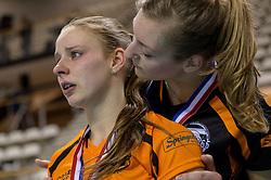 21-02-2016 NED: Bekerfinale Eurosped TVT - Set Up 65, Almere<br /> Eurosped pakt de beker door Set Up in de finale met 3-1 te verslaan /Jorinda Kremer #9