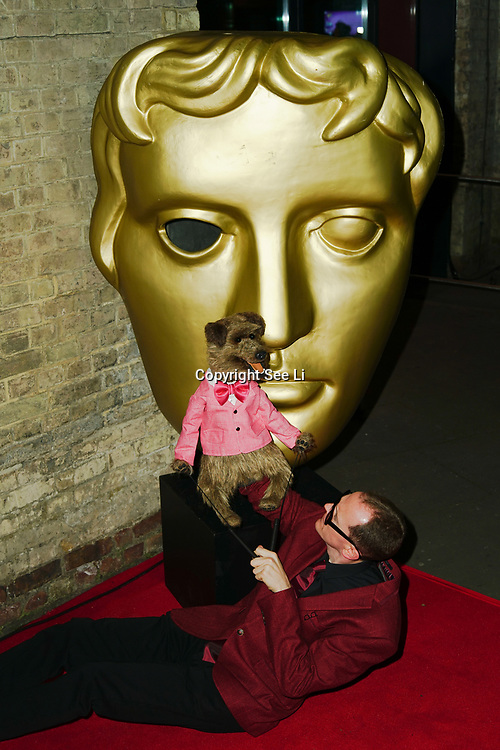 London, England, UK. 26th November 2017. Hacker T Dog attend the British Academy Children's Awards 2017 at the Roundhouse.