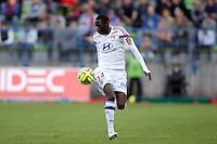 Mouhammadou DABO - 09.05.2015 -  Caen / Lyon  - 36eme journee de Ligue 1<br />Photo : Vincent Michel / Icon Sport