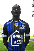 Randi Goteni during the photocall of Troyes Estac for season of ligue 2 on September 3rd 2016 in Troyes<br /> Photo : Philippe Le Brech / Icon Sport