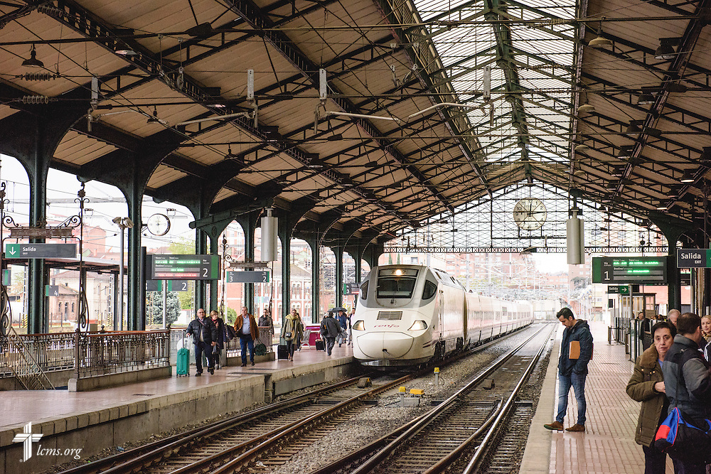 The Valladolid train station on Saturday, Nov. 5, 2016, in Spain. LCMS Communications/Erik M. Lunsford