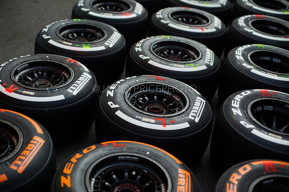 September 4-7, 2014 : Italian Formula One Grand Prix - Pirelli dry tires