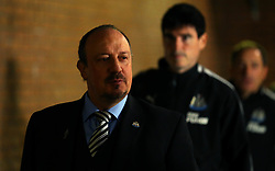 Newcastle United manager Rafa Benitez arrives at Turf Moor for the Premier League fixture against Burnley - Mandatory by-line: Robbie Stephenson/JMP - 30/10/2017 - FOOTBALL - Turf Moor - Burnley, England - Burnley v Newcastle United - Premier League