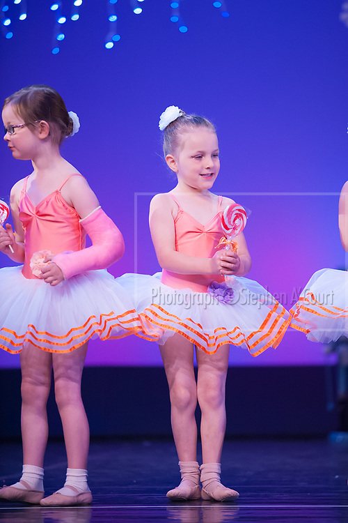 Wellington, NZ. 6.12.2015.  Lollipop March, from the Wellington Dance & Performing Arts Academy end of year stage-show 2015. Little Show, Sunday 10.15am. Photo credit: Stephen A'Court.  COPYRIGHT ©Stephen A'Court