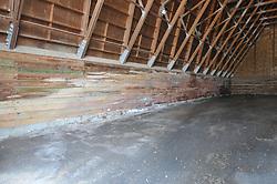 Pre-Construction Views. CT-DOT Orange Salt Shed Rehabilitation Project. No. 0106-0123