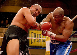 February 22, 2007 - New York, NY - David Tua wins a unanimous decision over Robert Hawkins in their heavyweight bout at Roseland Ballroom in New York City.