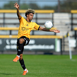 TELFORD COPYRIGHT MIKE SHERIDAN Devarn Green of Southport during the National League North fixture between Southport and AFC Telford United at Haig Avenue on Saturday, August 24, 2019<br /> <br /> Picture credit: Mike Sheridan<br /> <br /> MS201920-005